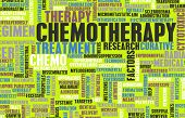 stock photo of radiation therapy  - Chemotherapy as a Medical Concept with Side Effects - JPG