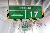 Lifeboat 17 Sign
