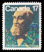 CANADA - CIRCA 1981: A stamp prointed in Canada shows botanist John Macoun, circa 1981