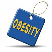 pic of obese  - obesity or over weight overweight or obese people suffer eating disorder and can be helped by dieting - JPG