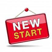picture of fresh start  - start new life road to fresh begin new start - JPG