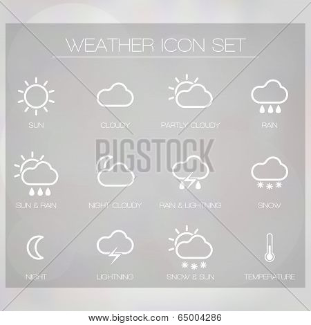 Weather Icons For Widget