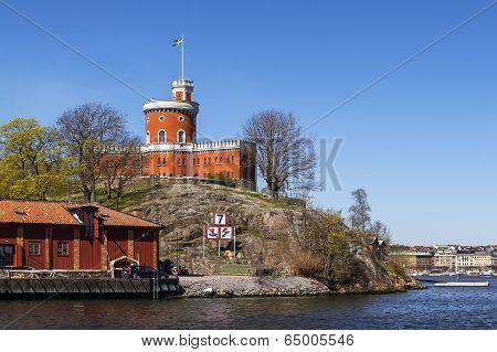 Castle On Kastellholmen, Stockholm