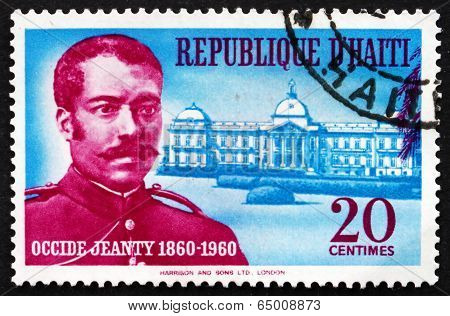 Postage Stamp Haiti 1960 Occide Jeanty, Composer