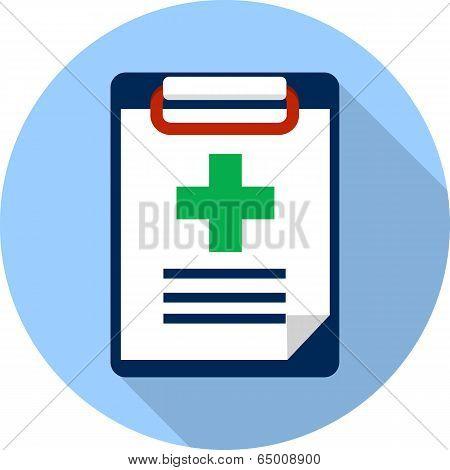 Vector Medicine Clipboard