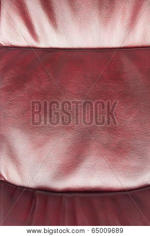 Leather Of Claret Color