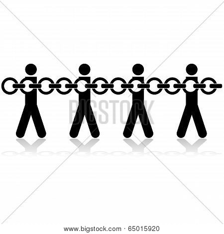 Chained People