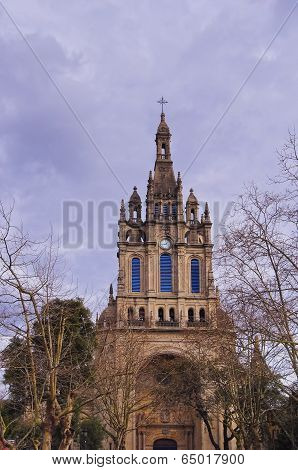 Basilica Of Begona In Bilbao