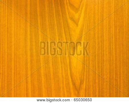 Wooden furniture detail.