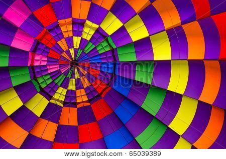 Hot Air Balloon Inside Background