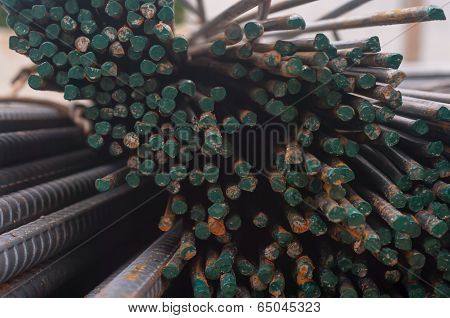 Steel Rod  In Warehouse