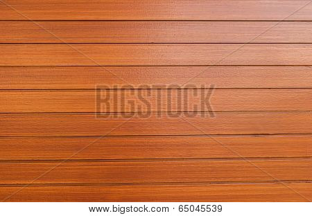 An Exterior Wall Surface Of Horizontal Wooden Planks Painted
