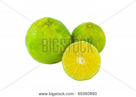Cloes Up Lemon