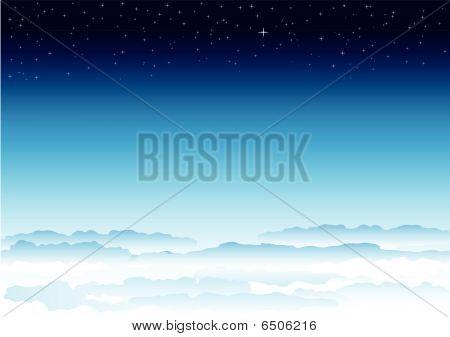 Céu e espaço