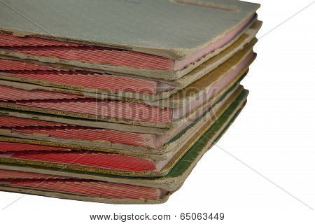 Stack Of Old  Files