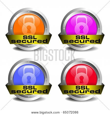 SSL secured icons