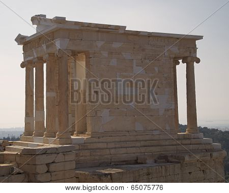 Athena Niki (victory) small temple, Arthens Greece