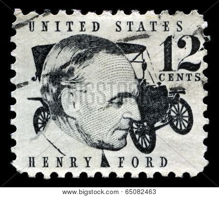 Henry Ford Us Postage Stamp