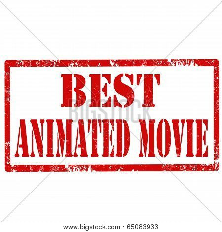 Best Animated Movie-stamp