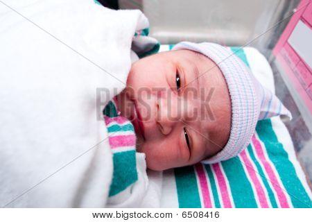 Rosto de bebê fofo