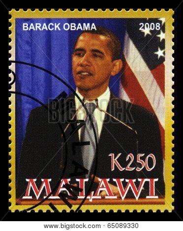 President Obama Postage Stamp