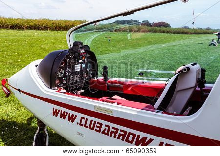 Sky Arrow 450T/ts Ultralight Airplane Cockpit