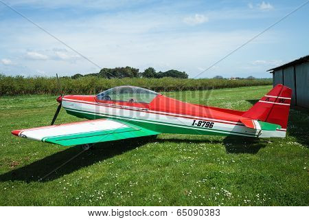 Asso Iv Whisky Ultralight Airplane