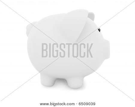 Piggybank From The Side