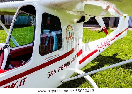 Sky Arrow 450T/ts Ultralight Airplane Closeup View