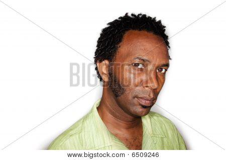 Homem afro-americano