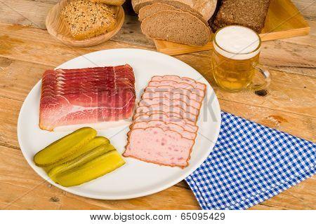 German Cold Meal