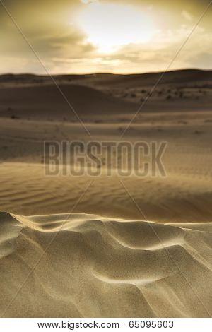 Sunset Wahiba Oman
