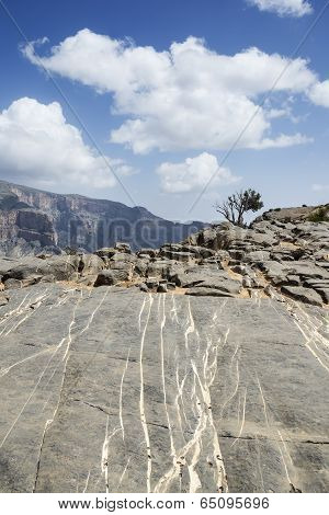 Rocks Jebel Shams