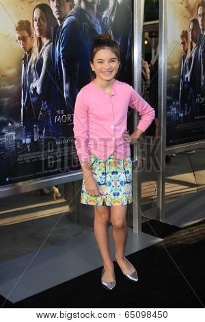 LOS ANGELES - AUG 12:  Landry Bender at the