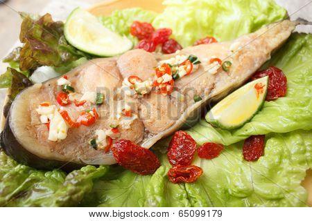 Steam Fish With Sour Taste