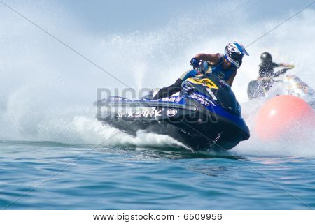 Jet Ski King's Cup World Cup Grand Prix 2009 At Pattaya, Thailand