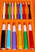 Colors Pencils Box poster