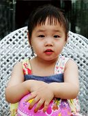 Cute Asian Girl poster