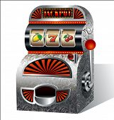 picture of tumbler  - Vintage slot machine - JPG