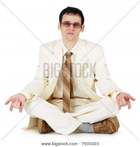 Cool Guy In White Suit
