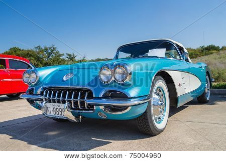 1959 Chevrolet Corvette Convertible Classic Car