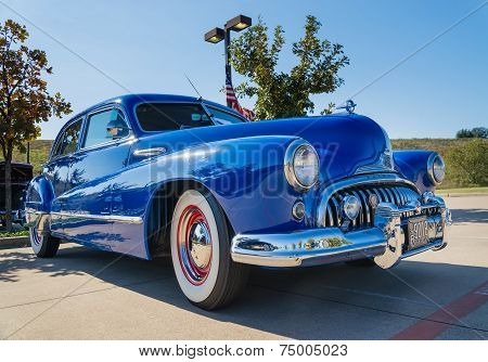 Blue 1947 Buick Super Classic Car