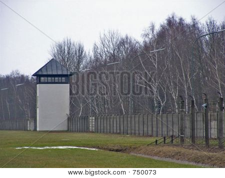 Watchtower in the Concentration Camp Dachau