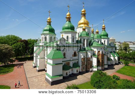 St. Sophia Cathedral in Kiev Ukraine