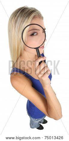 Pretty Detective Lady Concept