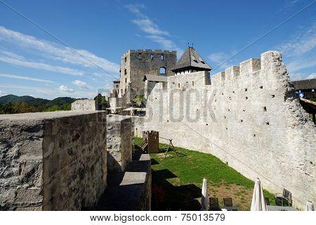 Celje medieval castle in Slovenia