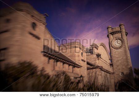 Horniman Museum at dusk