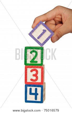 Stacking Number Blocks