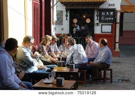 Tapas bar, Seville.