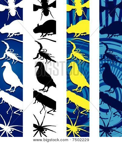 insect banners
